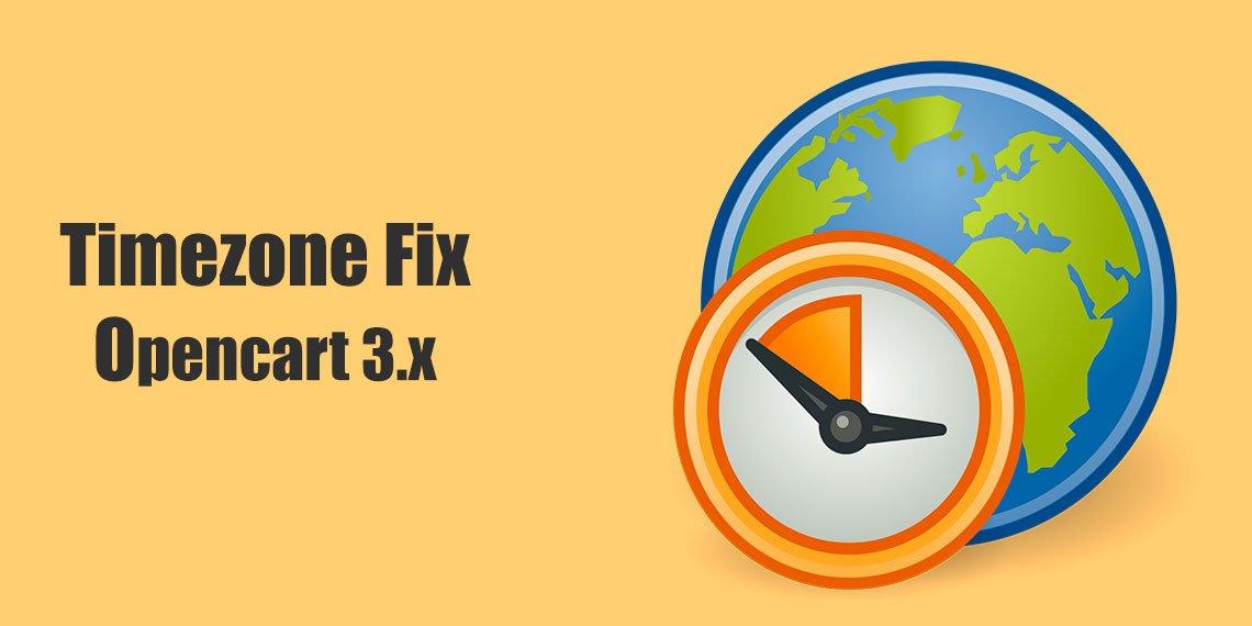 Як встановити часову зону в Opencart 3