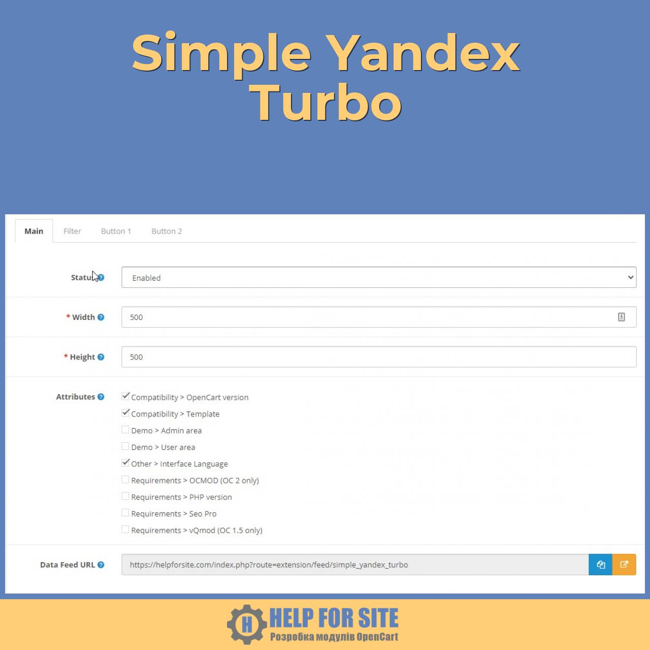 Simple Yandex Turbo