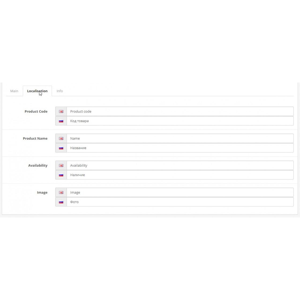 Таблиця останніх товарів